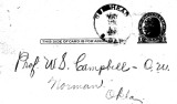Correspondence with Francis B. Bullhead regarding a request by Campbell to interview Indians