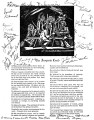 "A photocopy of ""The Iroquois Creed,""signed by members of the Akwesasne Mohawk Counselor..."