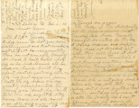 Letter to Aunt Carrie from Jennie Boland regarding general news; includes letter to Roxie,...