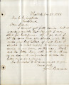 Letter from John Edwards regarding a trip to California, November 30, 1888.Letter from John...