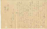 Letter from H. N. Wright regarding the death of Basil LeFlore, October 20, 1886.  Letter from H....
