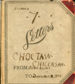 Choctaw and Chickasaw Nation Letterbook #7. 1902
