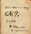 Choctaw and Chickasaw Nation Letterbook #9. 1903