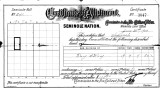 Seminole Nation Certificate of Allotment to Sammah.