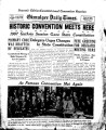 Okmulgee Daily Times, Vol. XI, No. 228.  Souvenir Edition, Constitutional Convention Reunion. ...