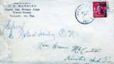 Apukshunnubbee District:  Towson County, 1903.  Letter regarding issue and payment of permits
