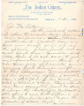 General correspondence and records: 1902 (January  September).  Miscellaneous letters regarding...