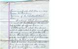 General correspondence and records: 1902 (December 23 -31).  Miscellaneous letters regarding land...