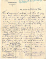 General correspondence and records: 1892.  Miscellaneous Choctaw cattle, insurance and coal...