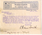 General correspondence and records: 1903 (April 16  30).  Miscellaneous letters regarding land...