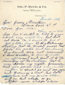 General correspondence and records: 1903 (June 20  30).  Miscellaneous letters regarding land...