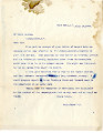 General correspondence and records: 1903 (July 18  31).  Miscellaneous letters regarding land...