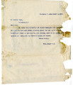 General correspondence and records: 1903 (September).  Miscellaneous letters regarding land...