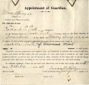 General correspondence and records: 1903 (October).  Miscellaneous letters regarding land...