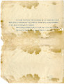 General correspondence and records: 1904 (January).  Miscellaneous letters regarding land...