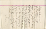 General correspondence and records: 1904 (April).  Miscellaneous letters regarding land...