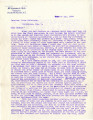 General correspondence and records: 1904 (October).  Miscellaneous letters regarding land...
