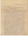 General correspondence and records: 1908 (July  September).  Miscellaneous letters regarding land...
