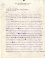 General correspondence and records: 1909 (January  June).  Miscellaneous letters regarding land...