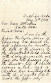 General correspondence and records: 1910 (January  July).  Miscellaneous letters regarding land...