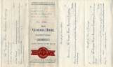 General correspondence and records: 1912.  The Georgia Home Insurance Company certificate to...