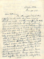 General correspondence and records:  1938.  Letter to Catherine [Scott] from her mother