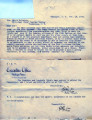 Separate Statehood Movement, Indian Territory: 1902.  Miscellaneous correspondence related to the...