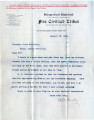 Separate Statehood Movement, Indian Territory:  1904.  Miscellaneous correspondence related to the...