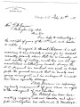Letter from Samuel Checote to G. W. Grayson re:  the behavior of Daniel Childress, February 21,...