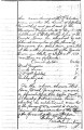 Penciled announcement of Wiley Sukey, Town King of Coweta, that Washington Grayson had been...