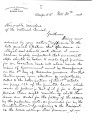Letter from Samuel Checote to the National Council re:  the general election, November 30, 1883. ...