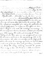 Letter from G. W. Grayson and L. C. Perryman to Samuel Checote re:  Checote's request for military...