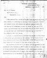Letter from A. Eickhoff, Acting Auditor, to G. W. Stidham re:  payment of certain Creeks for...