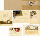Christmas and New Year cards received by Murrow, n.d.