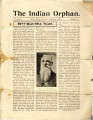 The Indian Orphan, volume 5, number 11, November 11, 1907