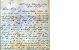 From William K. McKean.  To Peter P. Pitchlynn.  Dated Dec. 18, 1862.  Re: his company and its...
