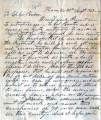 From Robert M. Jones (Kiamichi, C.N.).  To George Hudson.  Dated Aug. 22, 1863.  Re: Col. Hunter...