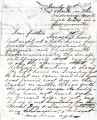 From Lycurgus P. Pitchlynn.  To Peter P. Pitchlynn.  Dated Dec.  31, 1858.  Re:  possible death of...