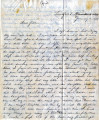 From Melvina Pitchlynn Folsom (Lukfata, C.N.).  To Peter P. Pitchlynn.  Dated Jan. 10, 1859.  Re:...