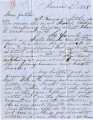 From Lycurgus P. Pitchlynn.  To Peter P. Pitchlynn.  Dated June 2, 1858.  Re:  submitting of the...