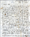 From Joseph Dukes (Norwalk, C.N.).  To Peter P. Pitchlynn.  Dated Feb. 3, 1860.  Re:  the...