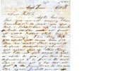 From Leonidas Pitchlynn (Eagle Town, C.N.).  To Peter P. Pitchlynn.  Dated Oct. 17, 1860.  Re:...