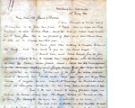 From Albert Pike, C.S.A. (Washington, Arkansas).  To Peter P. Pitchlynn.  Dated May 13, 1864.  Re:...