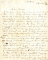 From Mary (Pitchlynn) Garland.  To Peter P. Pitchlynn.  Dated April 27, 1880.  Re: health of the...