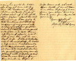 From William P. Pitchlynn (McAlester, C.N.).  To Peter P. Pitchlynn.  Dated July 14, 1880.  Re: ...