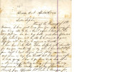 From Loring S.W. Folsom (Caddo, C.N.).  To Peter P. Pitchlynn.  Dated April 20, 1883.  Re:  the...