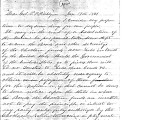 From Peter Folsom.  To Peter P. Pitchlynn.  Dated Jan. 19, 1861.  Re:  dissolution of the Union;...