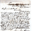 From Peter P. Pitchlynn (Executive Office, Choctaw Nation).  To Jeremiah Ward.  Dated June 18,...