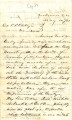 From Sampson Folsom (Doaksville, C.N.).  To Peter P. Pitchlynn.  Dated May 14, 1861.  Re:  the...