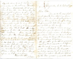 From Israel Folsom (Perryville, C.N.).  To Peter P. Pitchlynn.  Dated Feb. 24, 1870.  Re:  issue...